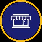 Icône du magasin marchand
